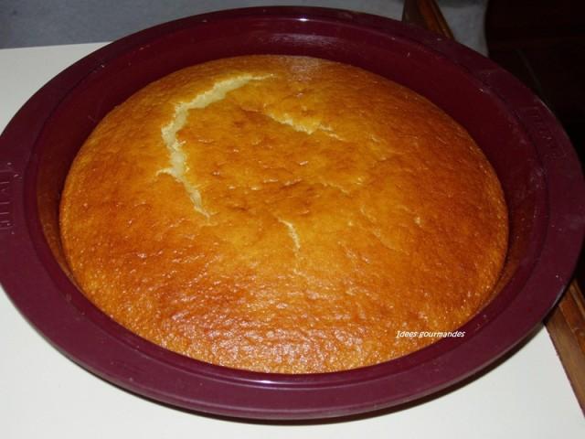 Gateau yaourt fromage blanc facile